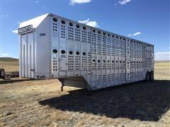 1990 Merritt T/A Livestock Trailer
