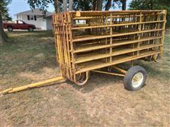 Baasch Portable Livestock Panels & Trailer