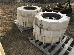 Plastic Pivot 8-Hole 11.2 X 24 Wheels