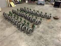 Martin 1360 Floating Row Cleaners/ JD No-Till Coulter Units