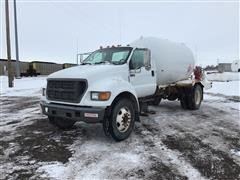 2001 Ford F750 S/A Propane Delivery Truck
