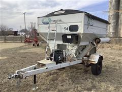 1993 Unverferth 150 Seed Weigh Wagon
