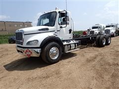 2012 Freightliner M2 112 T/A Cab & Chassis