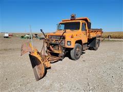1979 International S Series 1724 S/A Dump Truck/Snow Pusher