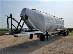 1995 LBT Inc T/A Aluminum Pneumatic Tanker Trailer