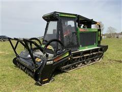 2006 Gyro-Trac GT 25 Heavy Duty Mulcher Wood Chipper W/2006 700HF Head