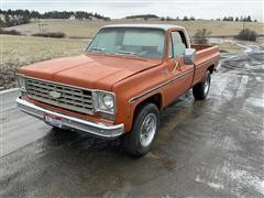 1975 Chevrolet Scottsdale K20 4x4 Pickup