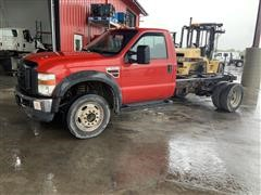 2010 Ford F550 XL Super Duty 4x2 Cab & Chassis
