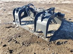 2020 Wolverine 6' Wide Grapple Bucket Skid Steer Attachment