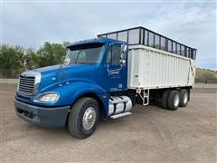 2005 Freightliner Columbia 120 T/A Truck W/Smeal Silage Box