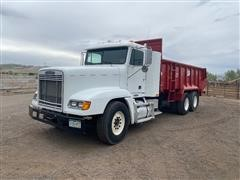1999 Freightliner FLD120 T/A Manure Spreader Truck W/MMI XHD18 Box