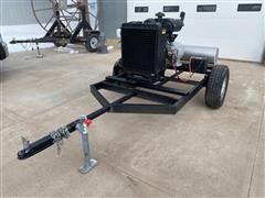 2012 Lima Mac 15 Kw Portable Generator W/Yanmar Diesel Power Unit