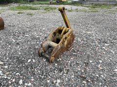 SDT Excavator Stiff Arm Mechanical Pulverizer