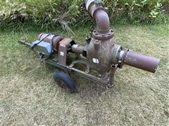 Gorman-Rupp 6x8 Portable Water Pump