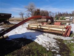 Hesston Hydro Swing 1014 Pull Type Windrower