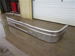 Polished Aluminum Front Truck Tractor Bumper