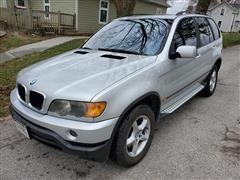 2002 BMW X5 4WD SUV