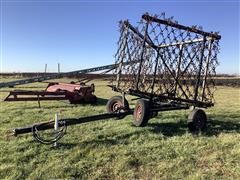 Fuerst 24' Folding Harrow