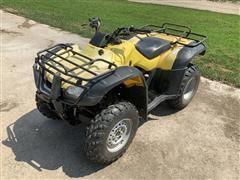 2004 Honda FourTrax Rancher 4x4 TRX350FM ATV