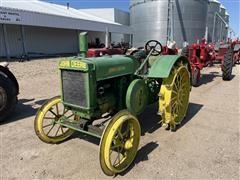 1929 John Deere D 2WD Tractor