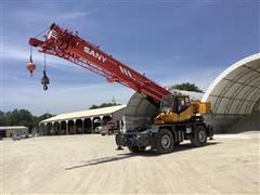 2013 Sany SRC840 4x4x4 Rough Terrain Crane