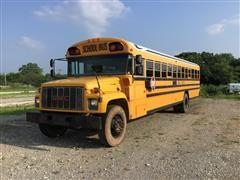 2002 GMC Bluebird C7H064 65 Passenger School Bus