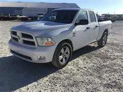 2012 Dodge 1500 4-Door 4x4 Pickup