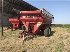 J&M 525-14 500bu Grain Cart
