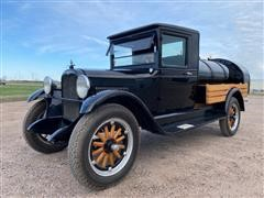 1928 Chevrolet 1 Ton Classic Tanker Truck