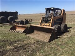 Case 75XT Skid Steer Loader W/Extra Bucket