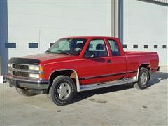 1996 Chevrolet 1500 4x4 Extended Cab Pickup