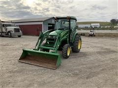 2011 John Deere 4320 MFWD Compact Utility Tractor W/Loader