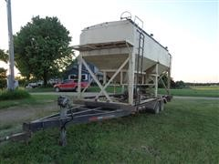 850 XL T/A Seed Tender With Christiansen Seed Vac Air System