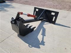 2021 Mid-State Backhoe Skid Steer Attachment