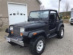 1987 Jeep Wrangler 4x4 Sport Utility Vehicle