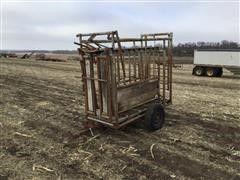 Pearson 1 Cattle Squeeze Chute