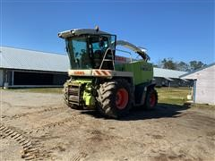 2007 CLAAS Jaguar 870 Speedstar 4WD Self-Propelled Forage Harvester