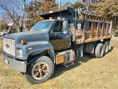 1991 Chevrolet Kodiak T/A Dump Truck W/Additional Axle