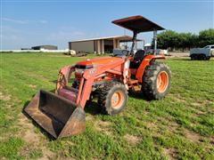 Kioti DK 45 4x4 Compact Utility Tractor W/Loader
