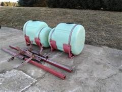 200 Gal Poly Saddle Tanks