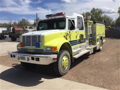 1993 International 4800 4800 4x4 Fire Truck