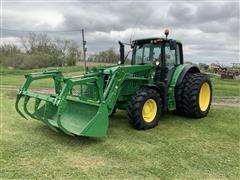 2016 John Deere 6130M MFWD Tractor W/H340 Loader