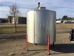 Stainless Steel Bulk Herbicide Tank