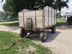 Heider 7x12 Barge Box W/Hoist