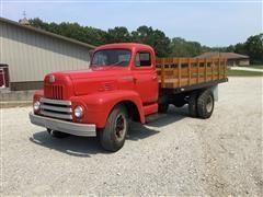 1952 International 185 S/A Flatbed Truck