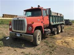 1984 Ford LT9000 T/A Dump Truck