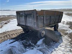 John Deere Running Gear W/Hyd Dump Box
