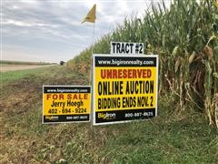 Tract 2:  162.66+/- Acres Hamilton County, NE