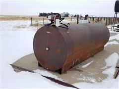 1000-Gal Steel Diesel Tank