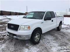 2005 Ford F150 4x4 Extended Cab Pickup